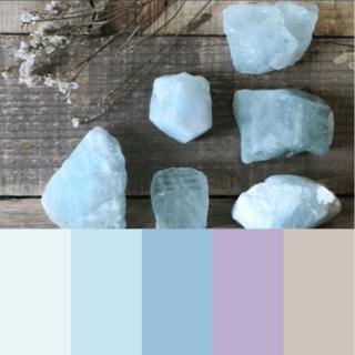 Acquamarina palette